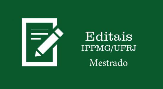 Editais Mestrado link